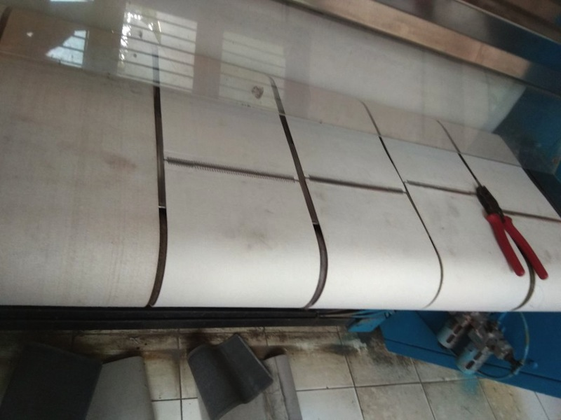 200mm Feeder Belts for laundry flatwork ironer