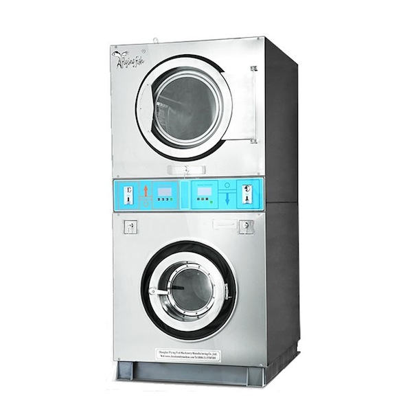 Laundry washer and dryer stacker
